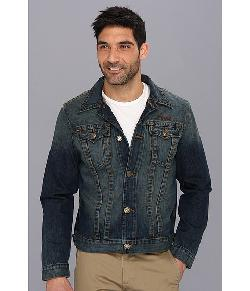 True Religion  - Danny Slim Fit Trucker Jacket Moto Club