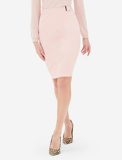 The Limited - Textured Waist Accent Pencil Skirt
