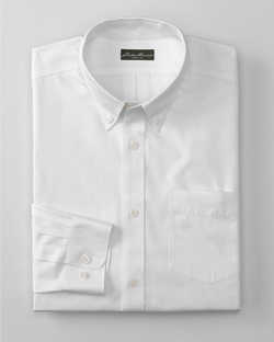 Eddie Bauer - Wrinkle-Free Classic Fit Pinpoint Oxford Shirt