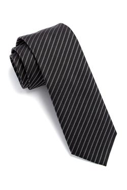 Hugo Boss - Diagonal Pin Striped Silk Tie