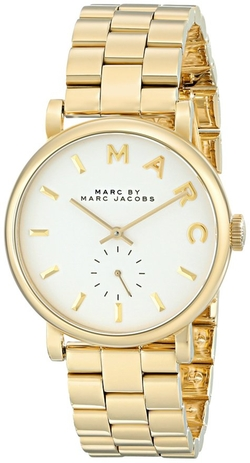 Marc by Marc Jacobs - Baker Gold-Tone Watch