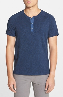 Vince - Short Sleeve Henley T-Shirt