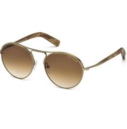 Tom Ford - Jessie Rounded Aviator Sunglasses