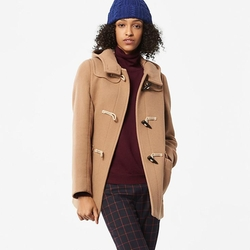 Uniqlo - Women Wool Blended Duffle Coat