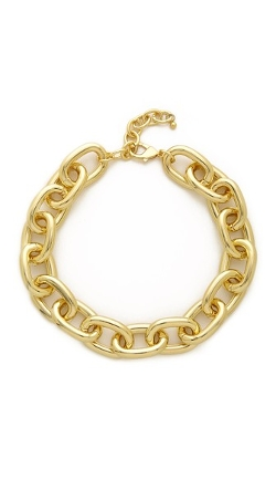 Adia Kibur - Lobster Claw Clasp Chain Necklace