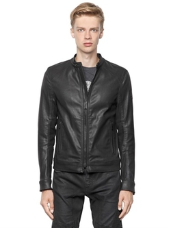 Belstaff - Gransdale Coated Denim Moto Jacket