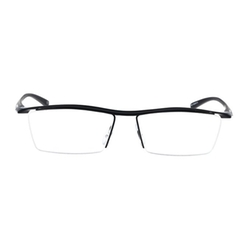 Bertha - Titanium Semi-Rimless Eyeglasses