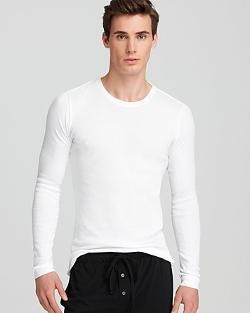 Calvin Klein  - Slim Fit Long Sleeve Crewneck Tee