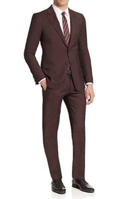 Armani Collezioni - Virgin Wool Nailhead Slim-Fit Suit
