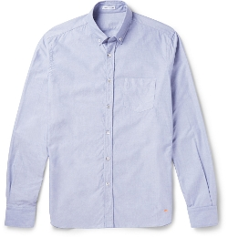 Tomas Maier - Cotton-Chambray Oxford Shirt