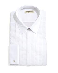 Burberry  - Eve Slim-Fit Tuxedo Shirt