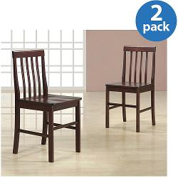 Walker Edison - Solid Wood Dining Chairs