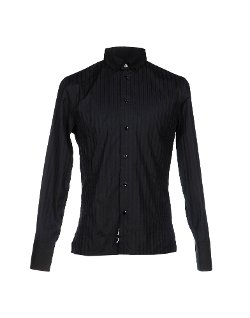 Bikkembergs  - Stripe Button Down Shirt