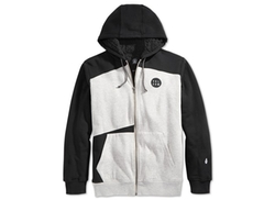 Volcom Rixford  - Colorblocked Faux-Sherpa Lined Hoodie