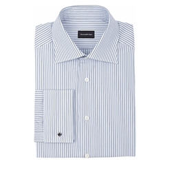 Ermenegildo Zegna - Multi-Stripe Dress Shirt