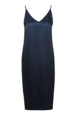 Topshop - Strappy V-Neck Slip Dress