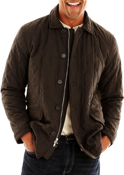 Excelled Leather - Excelled Quilted Car Coat