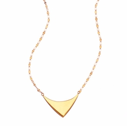 Lana  - Elite Reflector Triangle Pendant Necklace