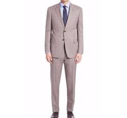 Armani Collezioni  - Windowpane Wool Suit