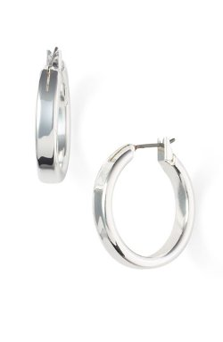 Nordstrom  - Medium Snap Post Hoop Earrings