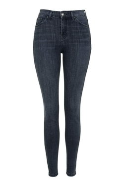 Topshop - Washed Black Jamie Jeans