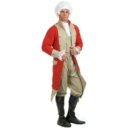 Charades - British Red Coat Costume