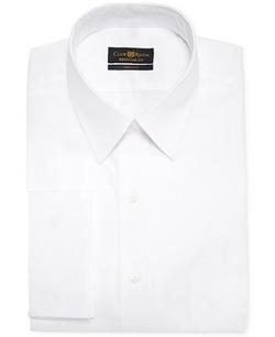 Club Room Estate - Solid French Cuff Shirt