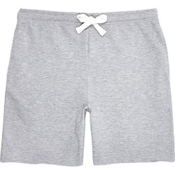 River Island - Grey Marl Jersey Shorts