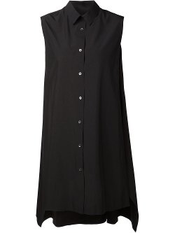 Alexander Wang  - Sleeveless Shirt Dress