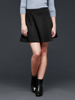 Gap - Jacquard Flare Skirt