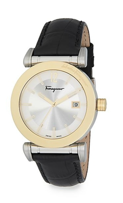 Salvatore Ferragamo - Gent  Leather Watch