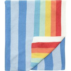 Bonnie Baby   - Rainbow Striped Blanket