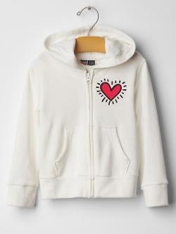 Junk Food - Keith Haring Zip Hoodie