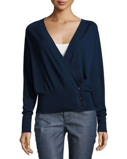 Tory Burch - Kendell Side-Button Cardigan