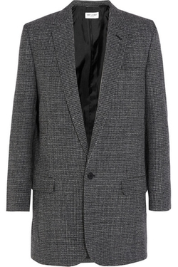 Saint Laurent  - Wool Tweed Blazer