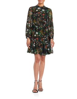 Essentiel Antwerp  - Floral Shirtdress