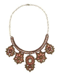 Deepa Gurnani  - Floral Necklace