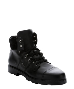 Fendi - Calfskin Lug Sole Work Boots