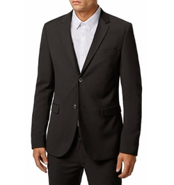 Topman - Ultra Skinny Black Suit Jacket