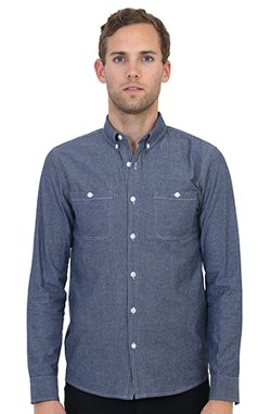 Biography Wear  - Fitted/Classic Button Down Chambray Shirt