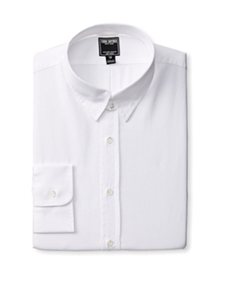 Todd Snyder  - Luxury Poplin Tab Collar Dress Shirt