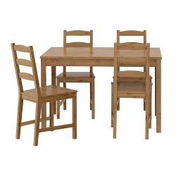 Ikea  - Table Solid Pine Wood Dining Set