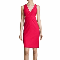 Elizabeth and James - Aldridge Cutout Sheath Dress
