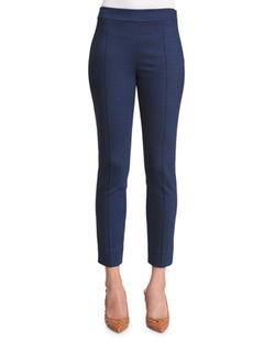 Diane Von Furstenberg - Skinny Ponte Ankle Pants