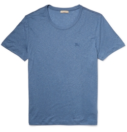 Burberry Brit - Slub Jersey Crew Neck T-Shirt