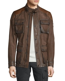Belstaff - Trialmaster Calfskin Leather Jacket