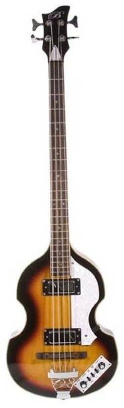 De Rosa - Sunburst Vintage Violin Bass Guitar