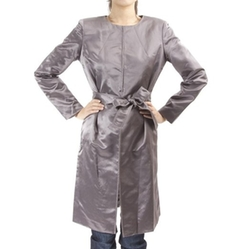 V-Luxury - Satin Slim Cut Coat