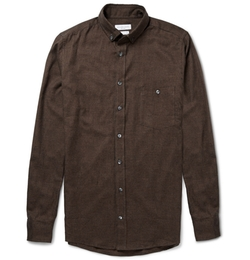 Richard James - Slim-Fit Gingham Brushed-Cotton Shirt