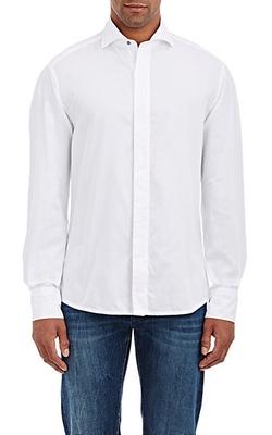 Michael Bastian - Piqué Tuxedo Shirt